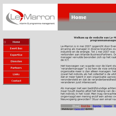 Website Le Marron